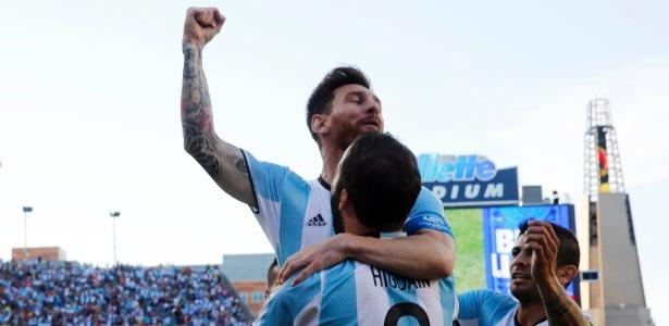 Decisivo na Copa América, Messi busca 1º título com Argentina para encerrar jejum de 23 anos - Winslow Townson-USA TODAY Sports