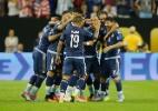 Com recorde e susto, Argentina goleia EUA e vai à final da Copa América - Bob Levey/Getty Images/AFP
