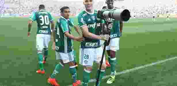 Última vitória do Palmeiras foi contra o Corinthians - Cesar Greco/Fotoarena