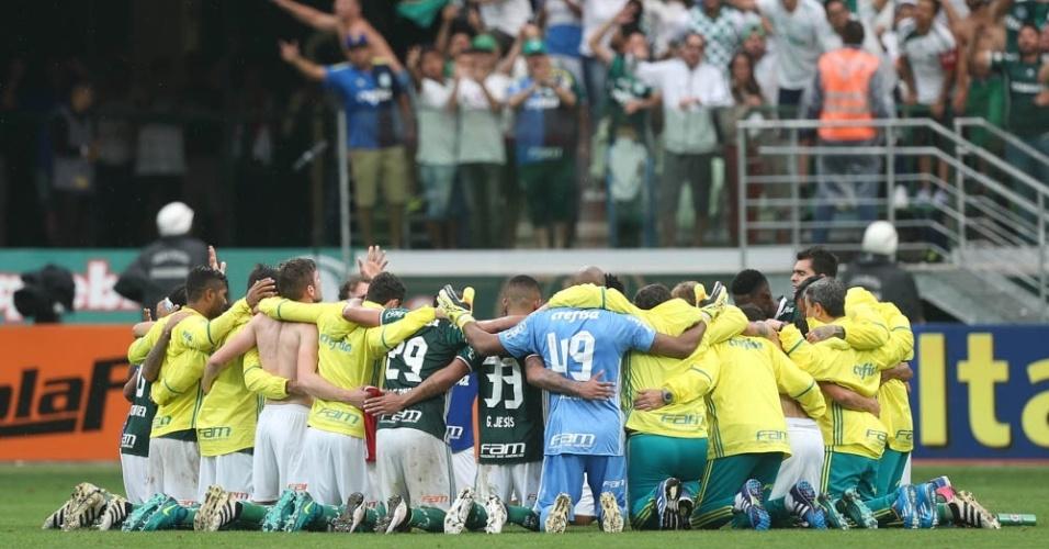 Reunião Palmeiras jogadores Internacional Allianz Parque