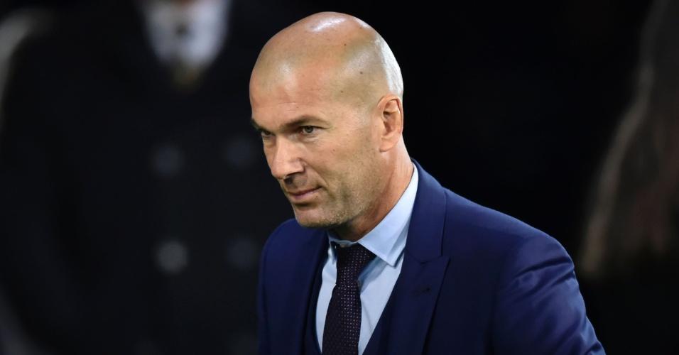 Zidane marca presenta na cerimônia de premiação da Fifa