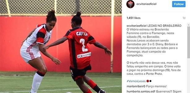 Flamengo venceu o Vitória por 3 a 0