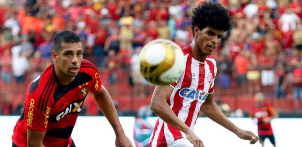 Diego Souza é um dos desfalques do Sport para o jogo contra o Joinville