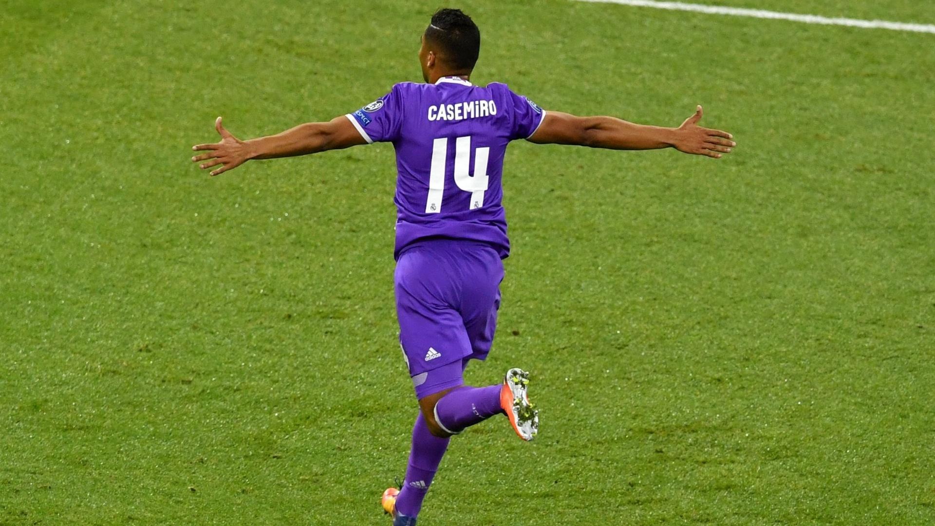 Casemiro comemora conquista da Liga dos Campeões
