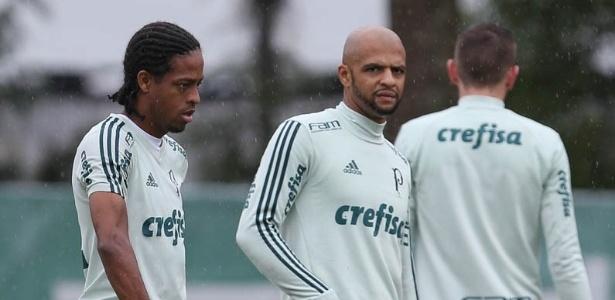 Felipe Melo vai reforçar o Palmeiras para o jogo contra o Cruzeiro - Cesar Greco/Ag. Palmeiras/Divulgação