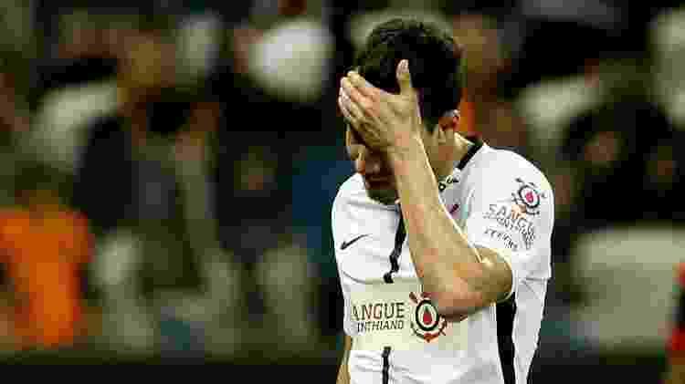 Rodriguinho lamenta em lance do jogo do Corinthians x Atlético-GO -  RODRIGO COCA/ELEVEN/ESTADÃO CONTEÚDO -  RODRIGO COCA/ELEVEN/ESTADÃO CONTEÚDO