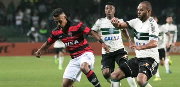 Alecsandro pelo Coxa em 2017: Fortaleza quer o jogador