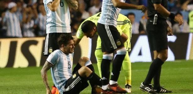 Gago se lesionou no jogo da Argentina