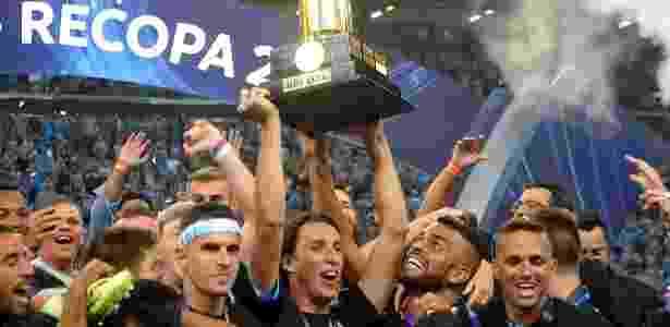Grêmio é o atual campeão da Recopa, ao bater o Independiente da Argentina - Ricardo Rímoli/AGIF