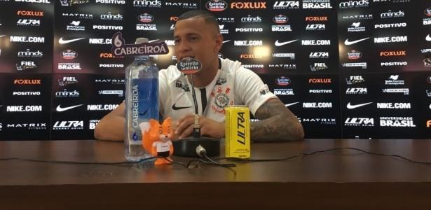 Lateral esquerdo Sidcley ficará no Corinthians até o fim da atual temporada