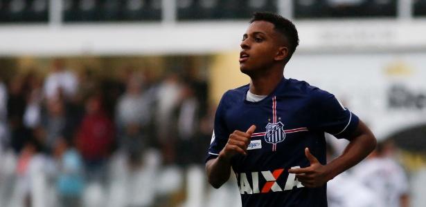 Rodrygo está bastante confiante após marcar três gols no último domingo, na Vila