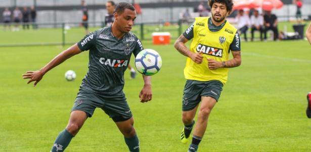 Leandrinho, atacante do Atlético-MG, ainda não teve oportunidade de entrar em campo - Bruno Cantini/Divulgação/Atlético-MG