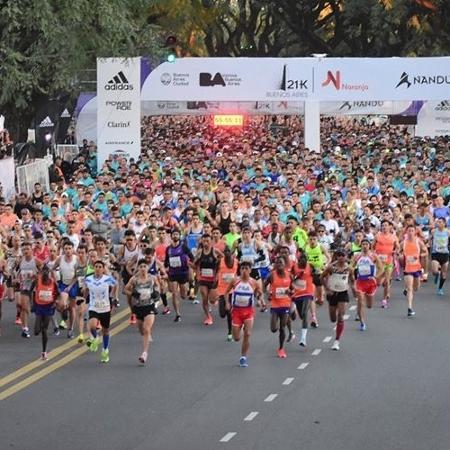 Meia maratona de Buenos Aires - Divulgação