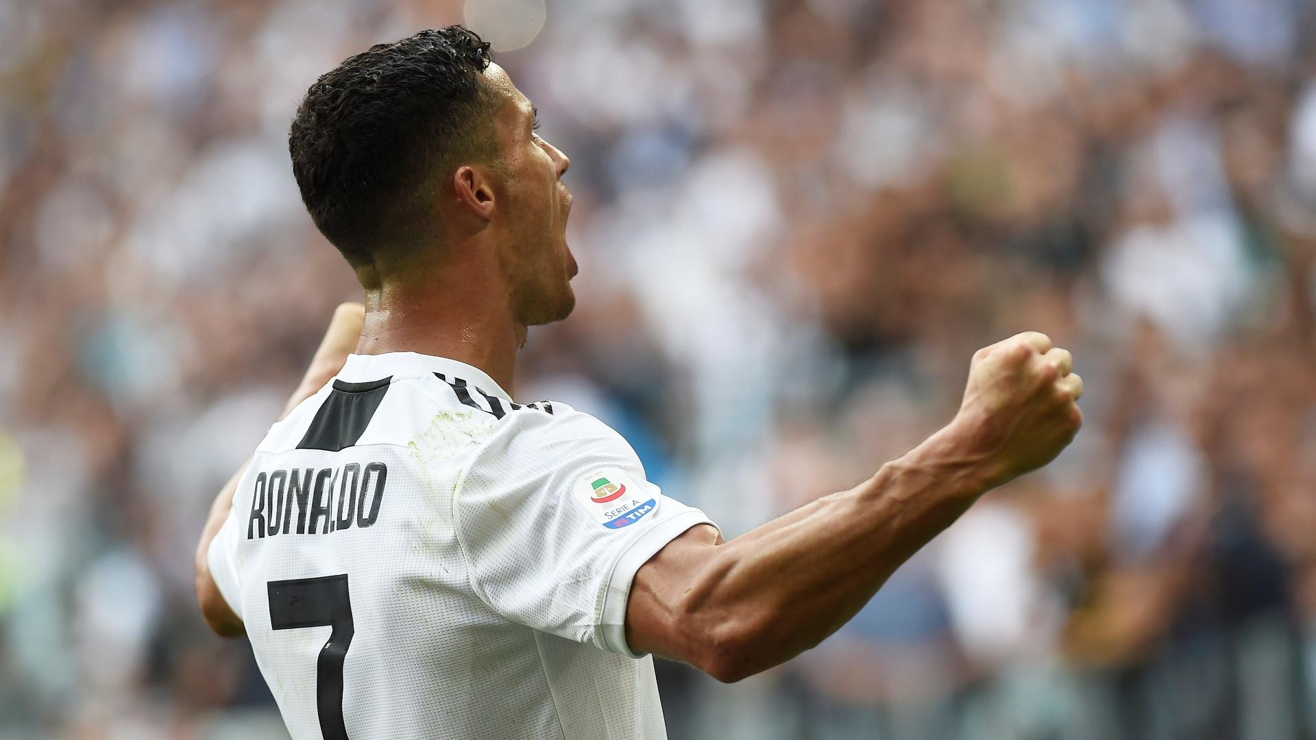 Cristiano Ronaldo marca e encerra seca de gols em jogos oficiais pela  Juventus a80b3e195be5e