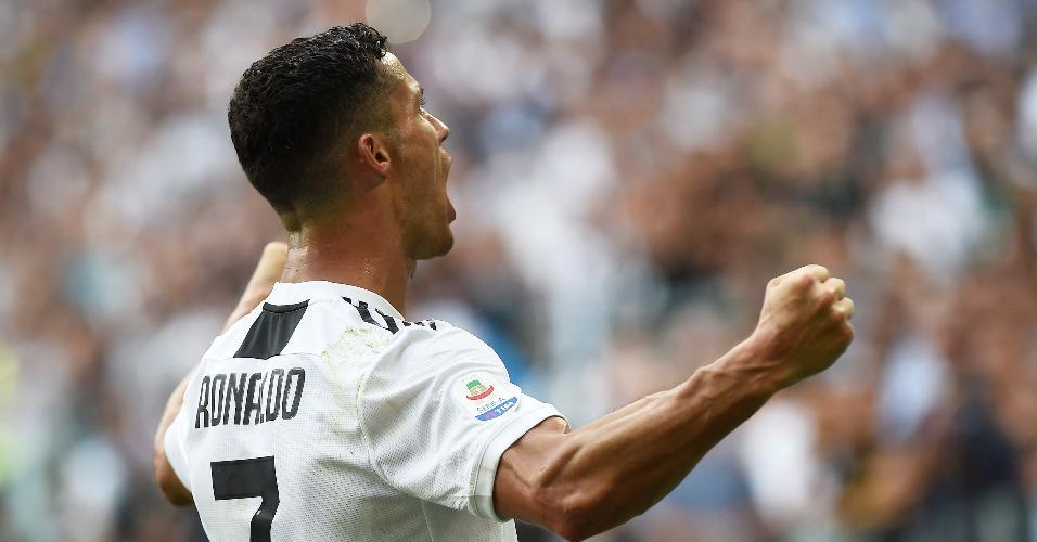 Cristiano Ronaldo marca e encerra seca de gols em jogos oficiais pela Juventus
