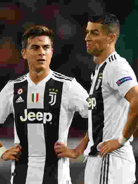 Enquanto Paulo Dybala foi escolhido MVP da temporada italiana, Cristiano Ronaldo ficou fora dos melhores - Michael Regan/Getty Images