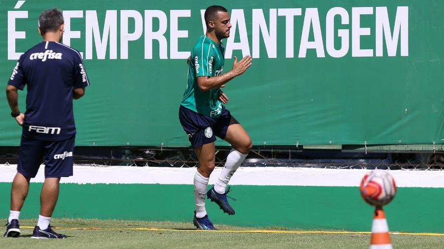 Arthur Cabral foi inscrito pelo Palmeiras para a disputa da Libertadores - Cesar Greco/Ag. Palmeiras/Divulgação