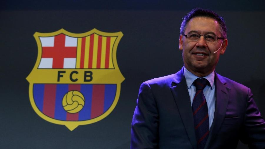 Josep Maria Bartomeu, presidente do Barcelona - Albert Gea/Reuters
