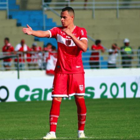Atacante Victor Rangel fechou com o Botafogo até o fim do Carioca de 2020 - Douglas Araújo/ CRB