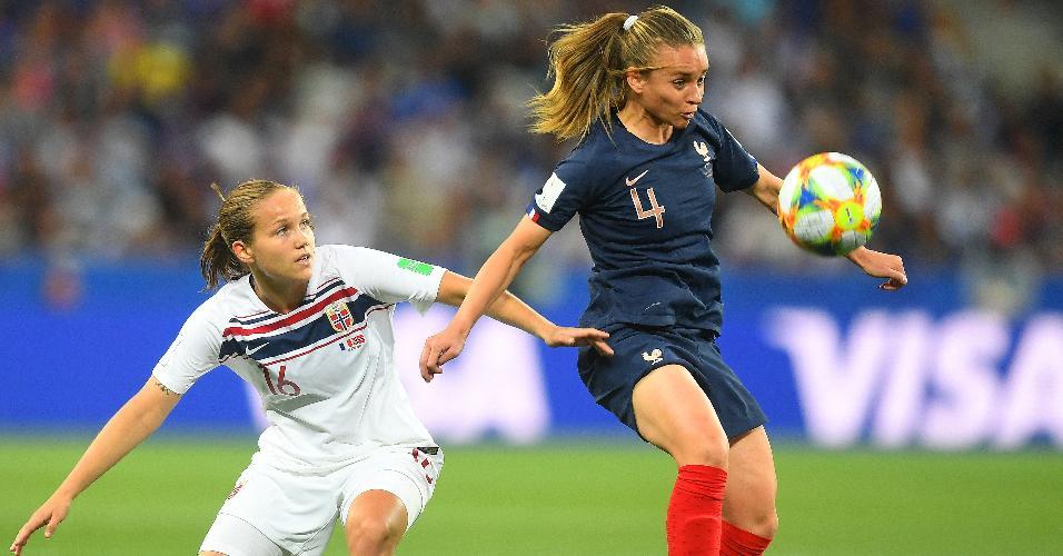 França x Noruega pela segunda rodada do Grupo A na Copa do Mundo