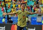 Contente por 1º gol pela Colômbia, Cuéllar despista sobre futuro - Divulgação
