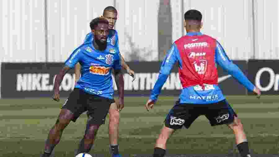 Renê Júnior durante treino do Corinthians - Daniel Augusto Jr. / Ag. Corinthians