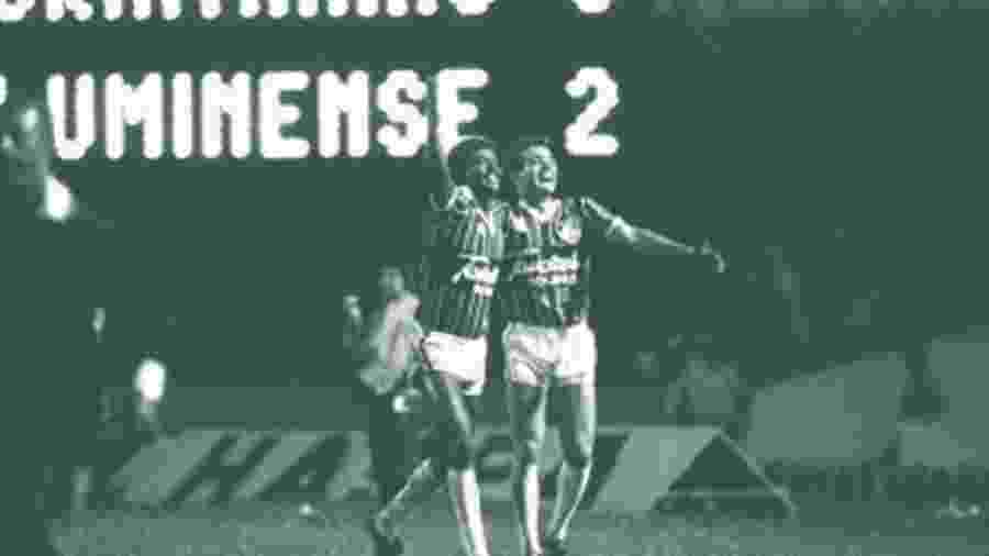 Fluminense bateu o Corinthians na campanha do título brasileiro de 1984 - Divulgação