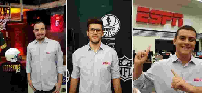Novos contratados da ESPN - Divulgação/ESPN