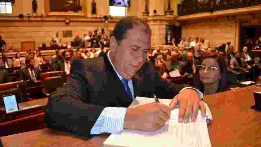 Vereador Zico (PTB) apresentou projeto de lei para proibir VAR no Rio - Divulgação