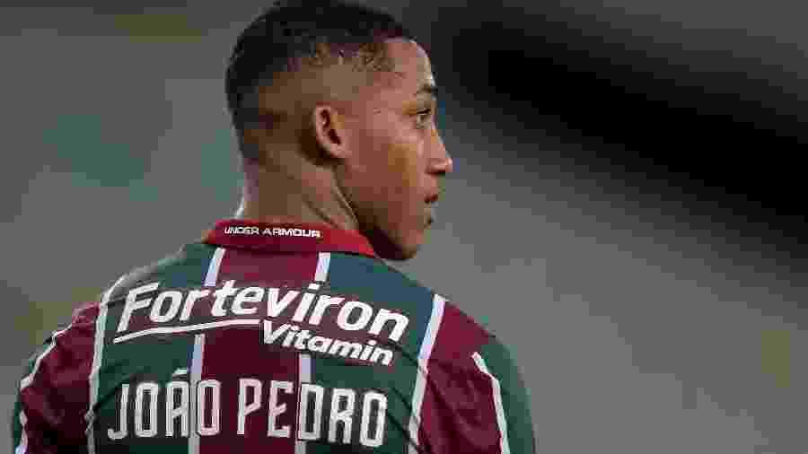 João Pedro ficou de fora da relação para jogos do Flu contra São Paulo e Inter - Thiago Ribeiro/AGIF