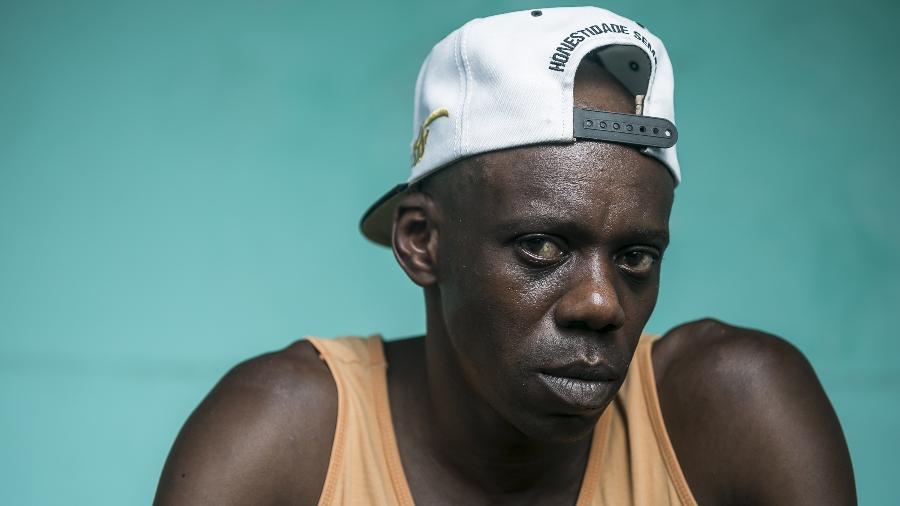 Retrato do ex-jogador Régis Pitbull - Keiny Andrade/UOL
