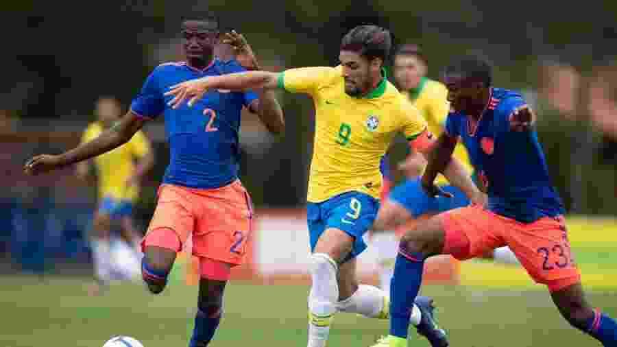 Yuri Alberto em atuação pela seleção brasileira sub-20 - CBF