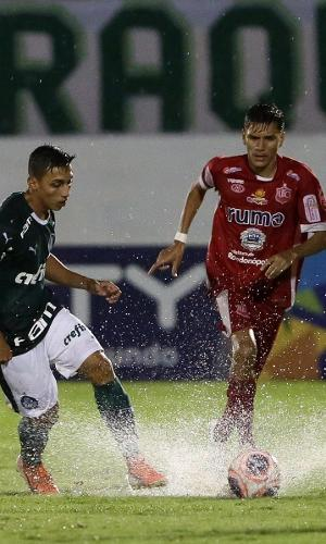 O Palmeiras enfrentou o União-MT na rodada de estreia da Copa São Paulo, a Copinha