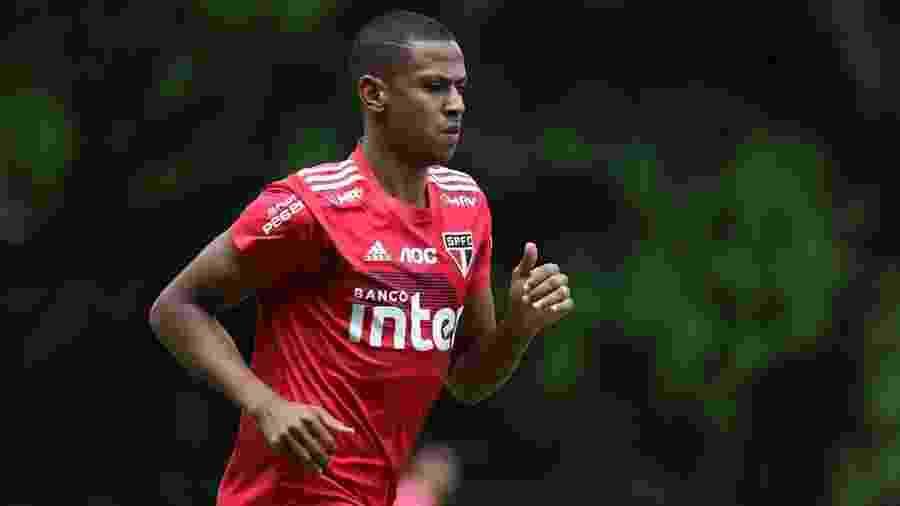 Zagueiro do São Paulo vai completar 100 jogos pelo clube na primeira rodada do Campeonato Paulista - Rubens Chiri/saopaulofc.net