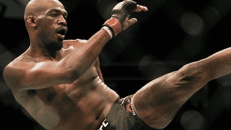 O lutador de MMA, Jon Jones - Reprodução