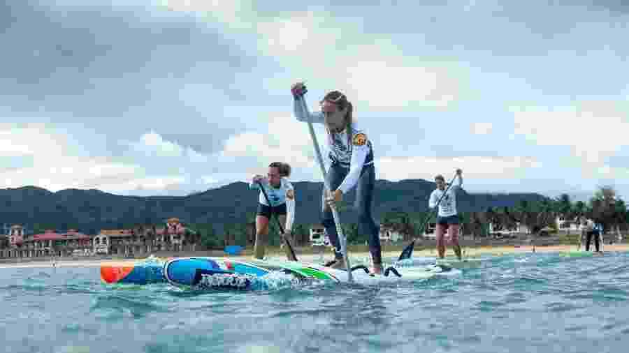 Mundial de SUP da federação de surfe - Pablo Jimenez/ISA/divulgação