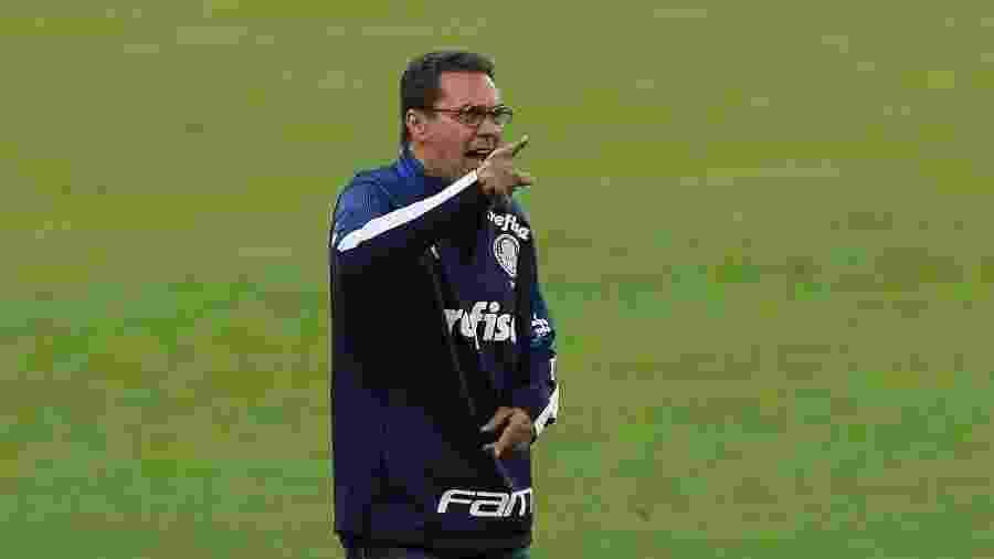 Vanderlei Luxemburgo, técnico do Palmeiras, tenta fazer a equipe ser mais perigosa - Cesar Greco/Ag. Palmeiras
