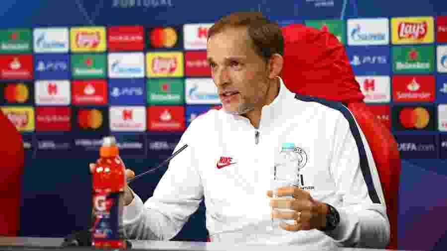 Técnico do PSG  e sua comissão teriam que receber mais de 10 milhões de euros (cerca de R$ 67,5 milhões) em caso de demissão - UEFA - Handout/UEFA via Getty Images
