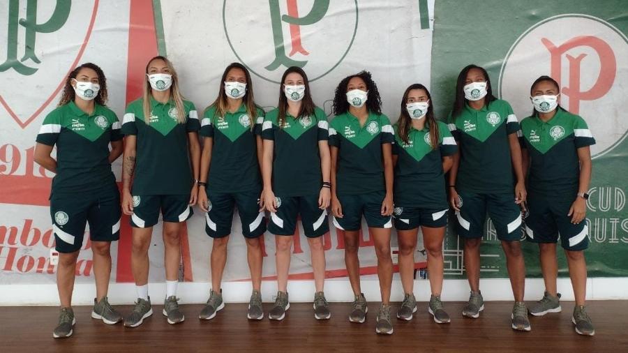 Reforços do Palmeiras para o time feminino da temporada 2021 - Divulgação/Palmeiras