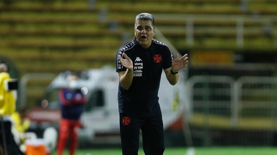 Técnico Marcelo Cabo está invicto no comando do Vasco da Gama: três vitórias e cinco empates - Rafael Ribeiro / Vasco