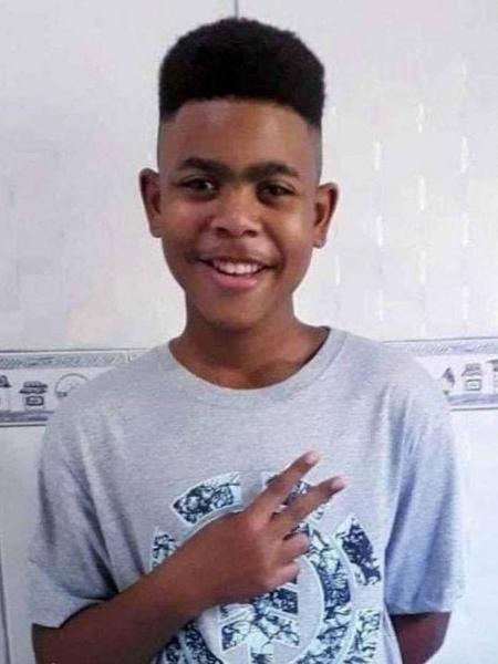 João Pedro, 14, morto em 18 de maio de 2020; bala que o matou tinha mesmo calibre da usada pelos policiais que invadiram a casa em que ele brincava com os amigos - Arquivo Pessoal