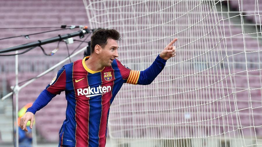 Messi deixará o Barcelona após 21 anos  - Pau BARRENA / AFP