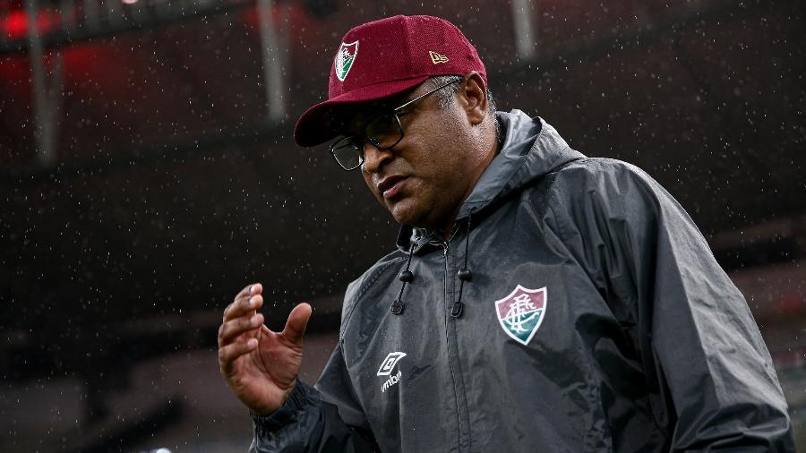 Roger Machado não é mais técnico do Fluminense - Lucas Merçon/Fluminense FC