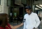 Repórter confunde jogador da NBA com torcedor: 'Você vai em muitos jogos?'