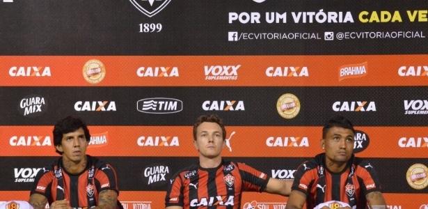 Jogadores foram contratados para a disputa do Campeonato Brasileiro