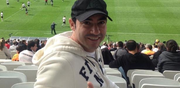 O ex-zagueiro Chicão jogou no Corinthians de 2008 a 2013