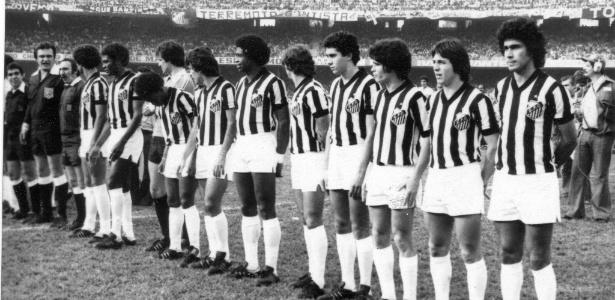 João Paulo foi campeão com o Santos em 1978