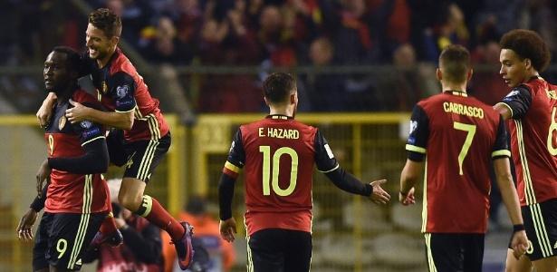 Bélgica segue com 100% de aproveitamento nas Eliminatórias
