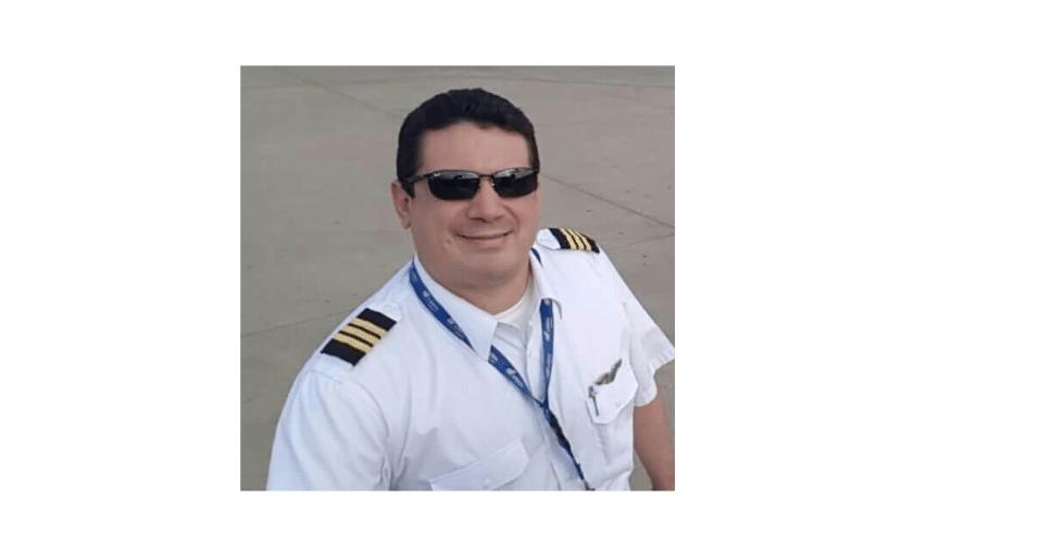 Gustavo Encina, membro da tripulação do voo que caiu em Medellín