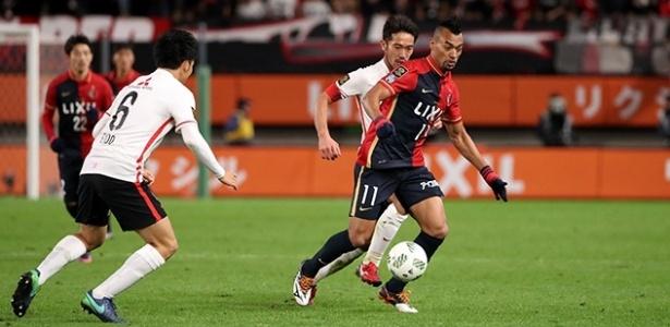 Brasileiro Fabrício, camisa 11 do Kashima Antlers, é um dos representantes do país no Mundial de clubes da Fifa